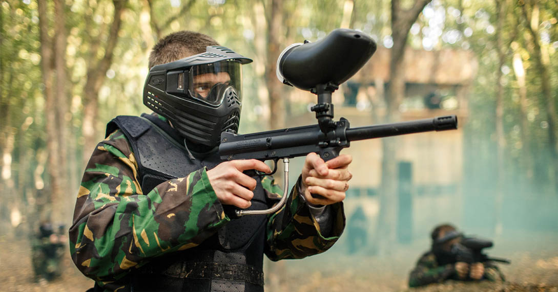 what is paint-balling?